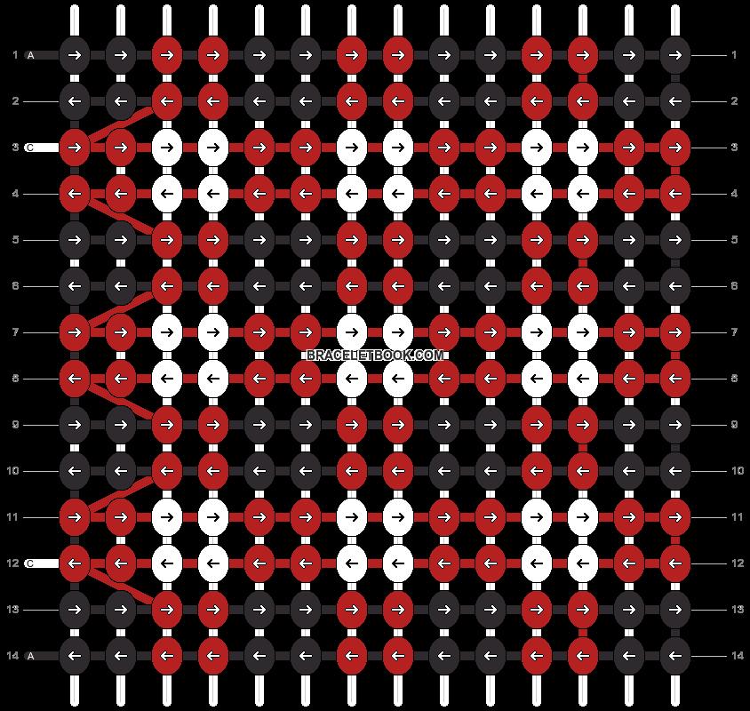 Alpha pattern #11574 variation #153915 pattern