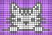 Alpha pattern #85181 variation #154184