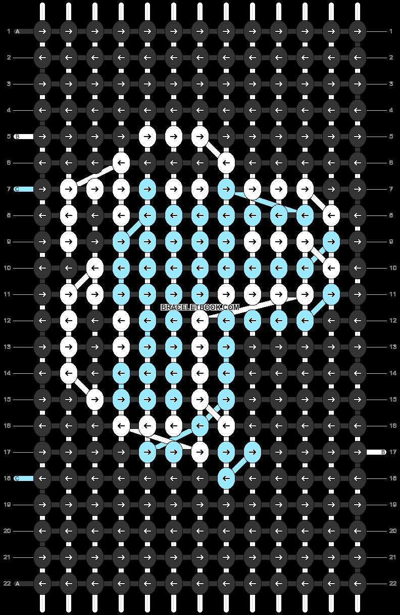 Alpha pattern #85657 variation #155017 pattern