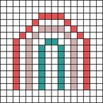 Alpha pattern #56526 variation #155553