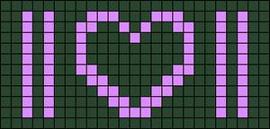 Alpha pattern #86019 variation #155669