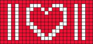 Alpha pattern #86019 variation #155670