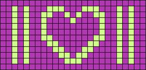 Alpha pattern #86019 variation #155739