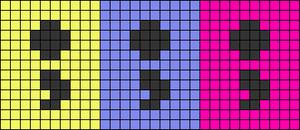 Alpha pattern #85356 variation #155788