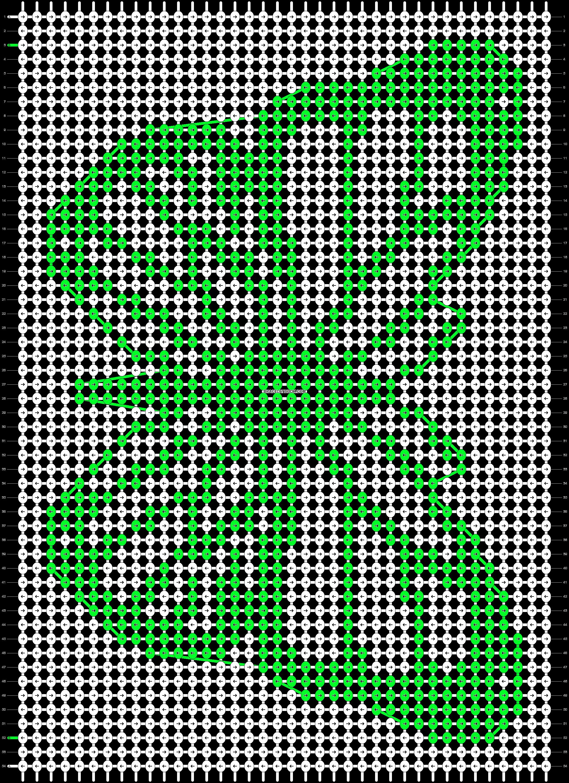 Alpha pattern #86002 variation #155817 pattern