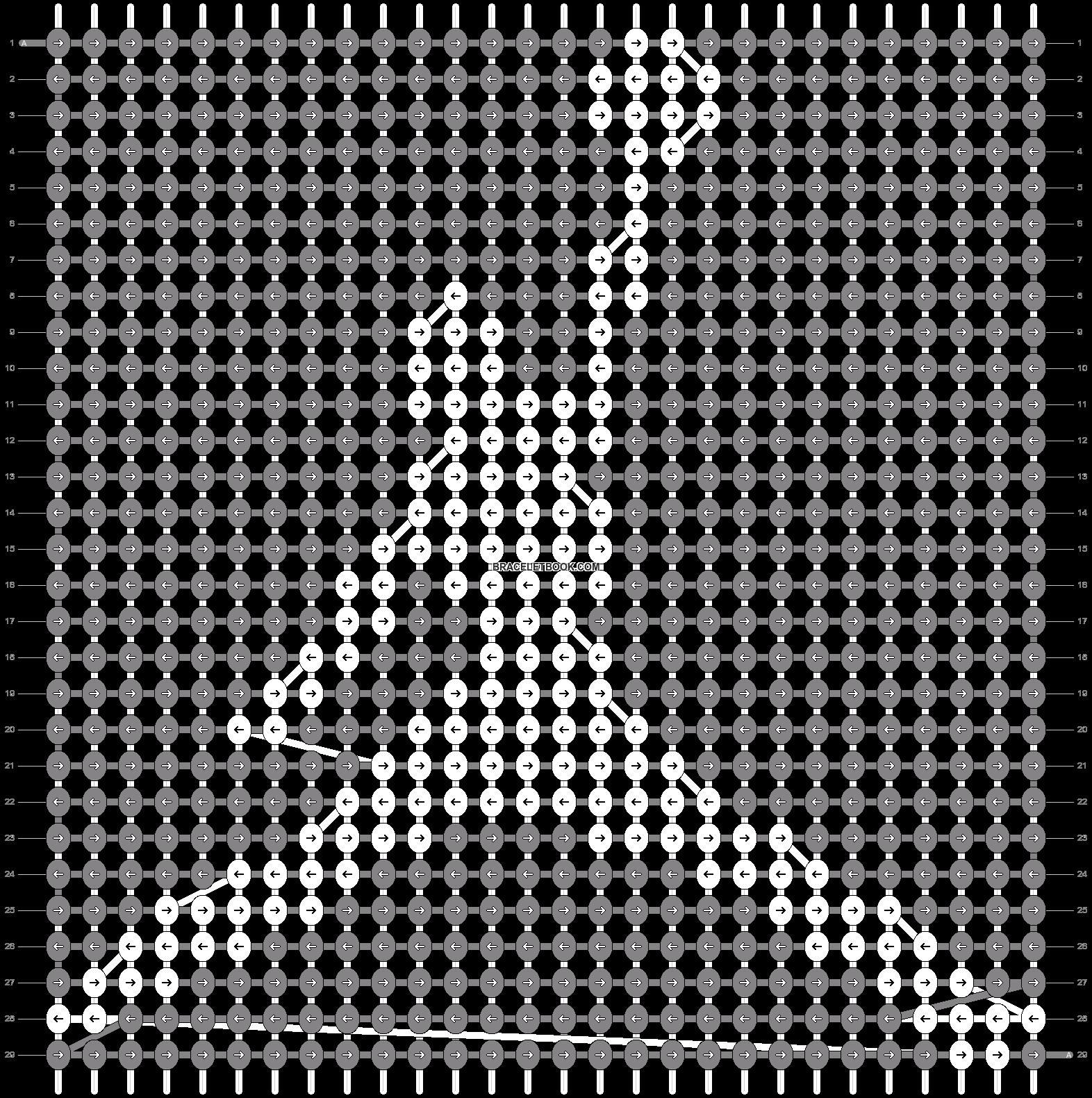 Alpha pattern #6083 variation #155841 pattern