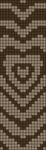 Alpha pattern #86377 variation #156214