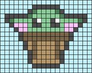 Alpha pattern #86526 variation #156974