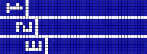Alpha pattern #33737 variation #157374