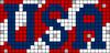 Alpha pattern #74096 variation #157475