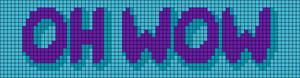 Alpha pattern #87090 variation #157589