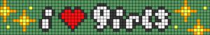Alpha pattern #87152 variation #157772