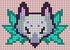 Alpha pattern #87413 variation #158035