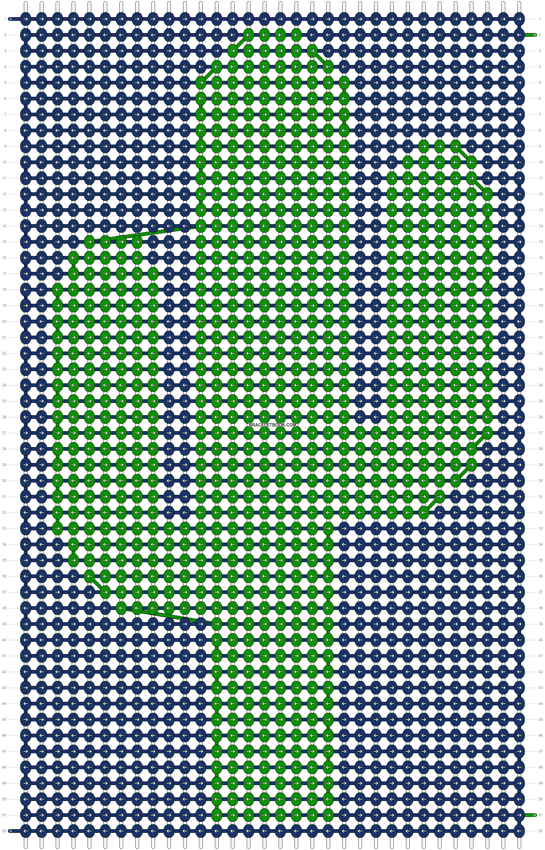 Alpha pattern #87505 variation #158086 pattern