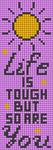 Alpha pattern #87390 variation #158105