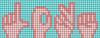 Alpha pattern #35454 variation #158229