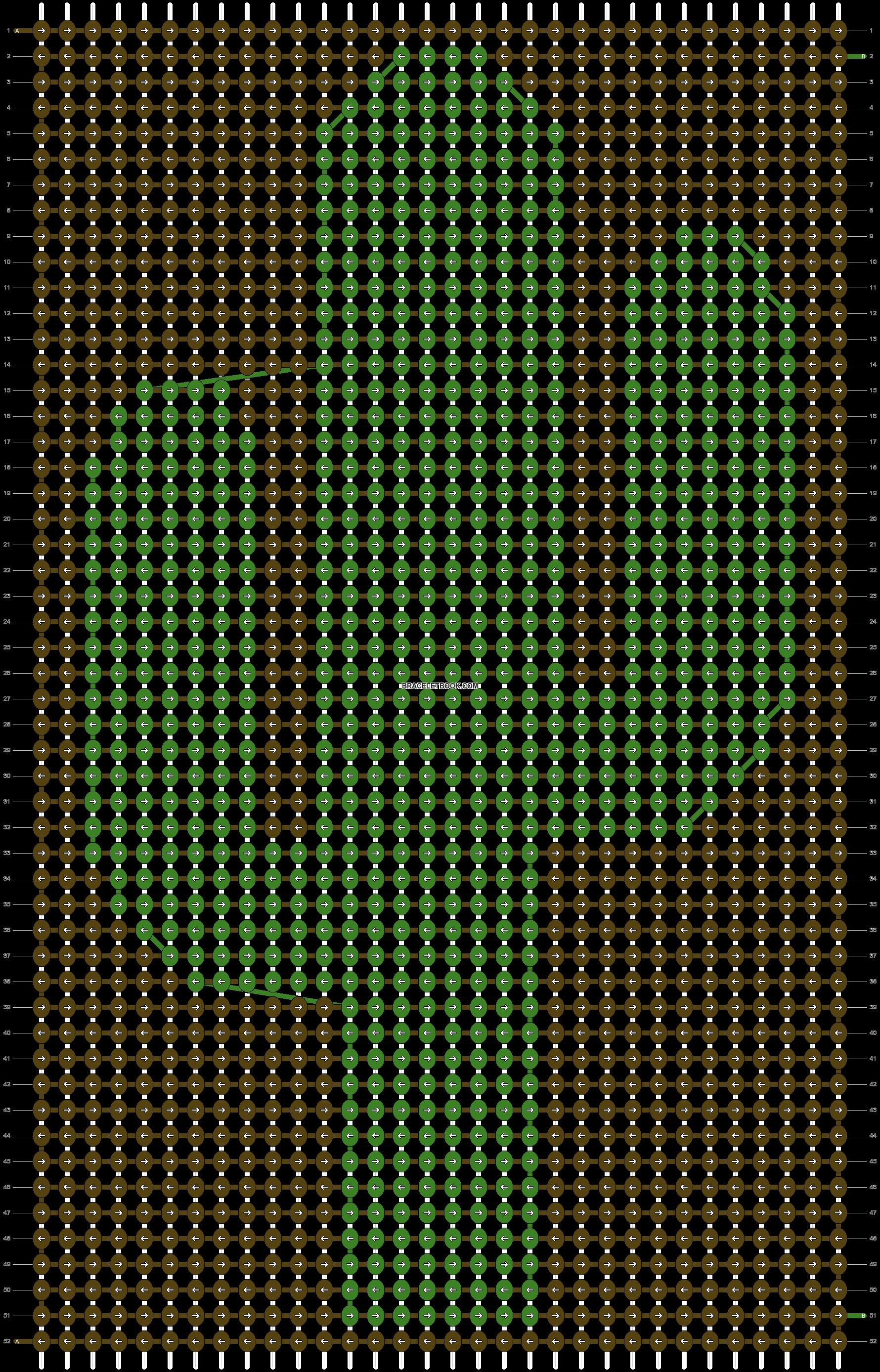 Alpha pattern #87505 variation #158301 pattern