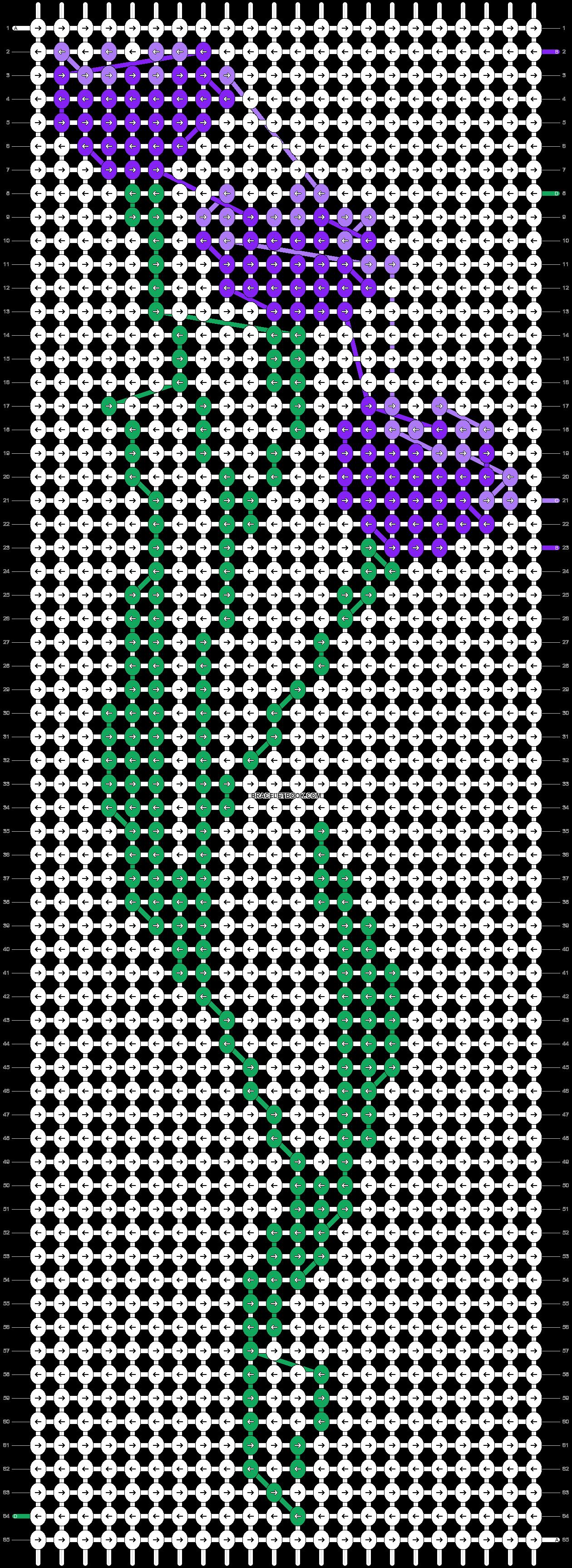 Alpha pattern #87708 variation #158449 pattern