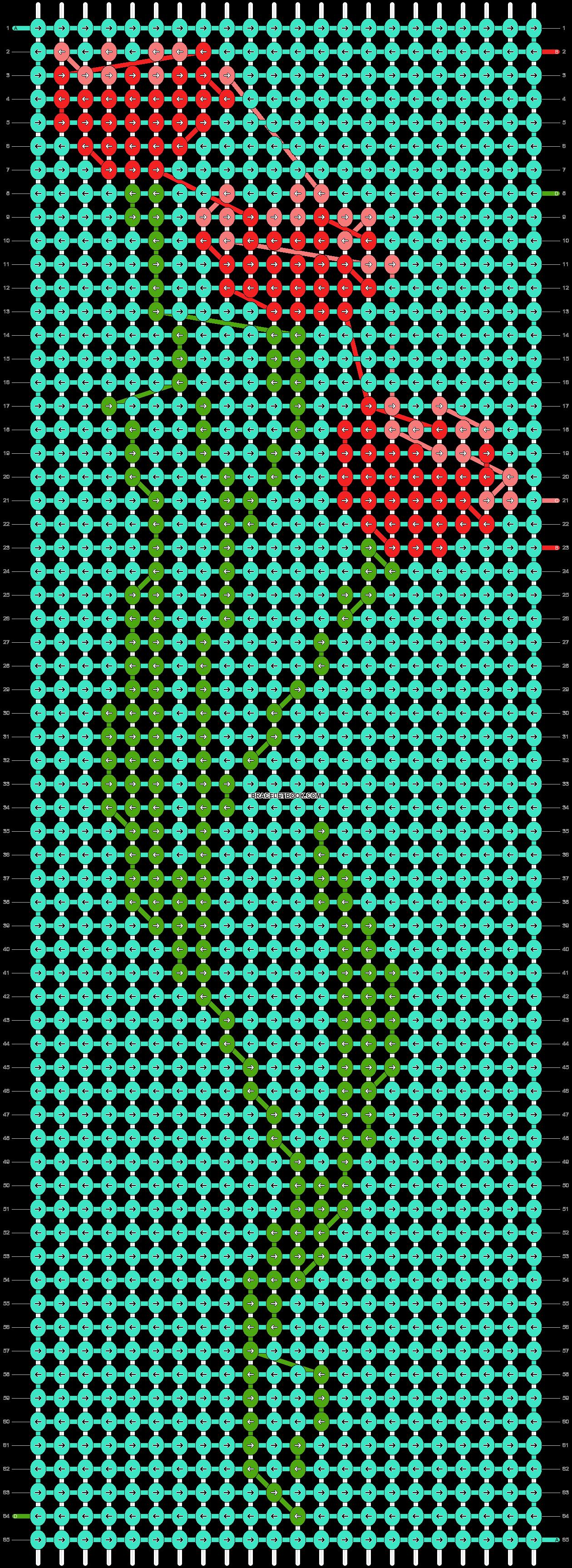 Alpha pattern #87708 variation #158893 pattern