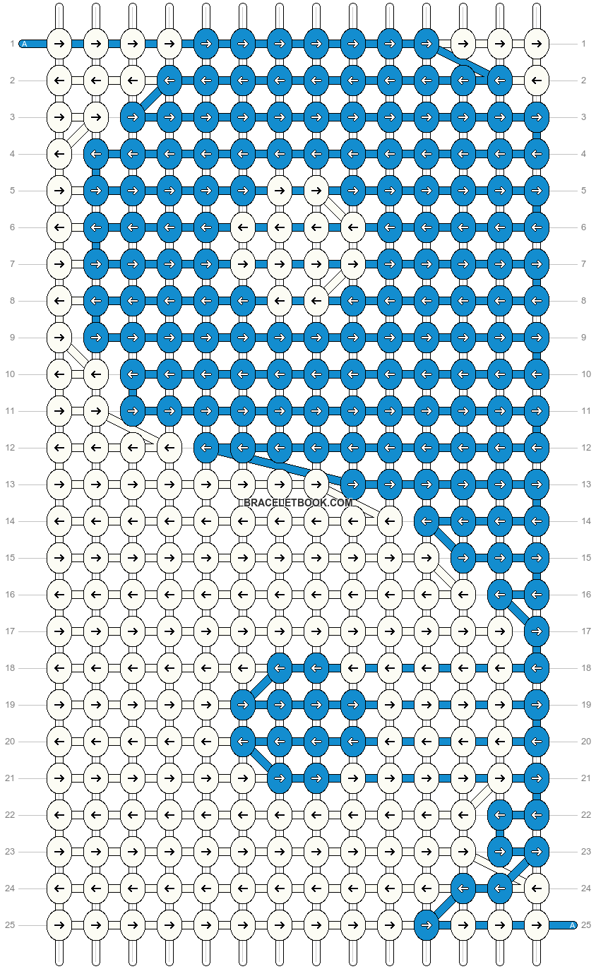 Alpha pattern #87658 variation #159560 pattern