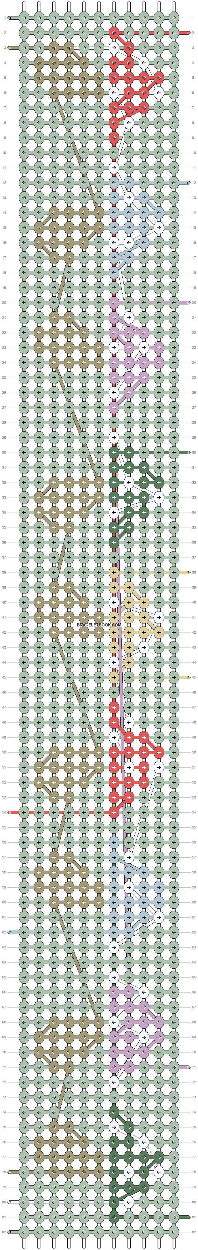 Alpha pattern #88407 variation #159817 pattern