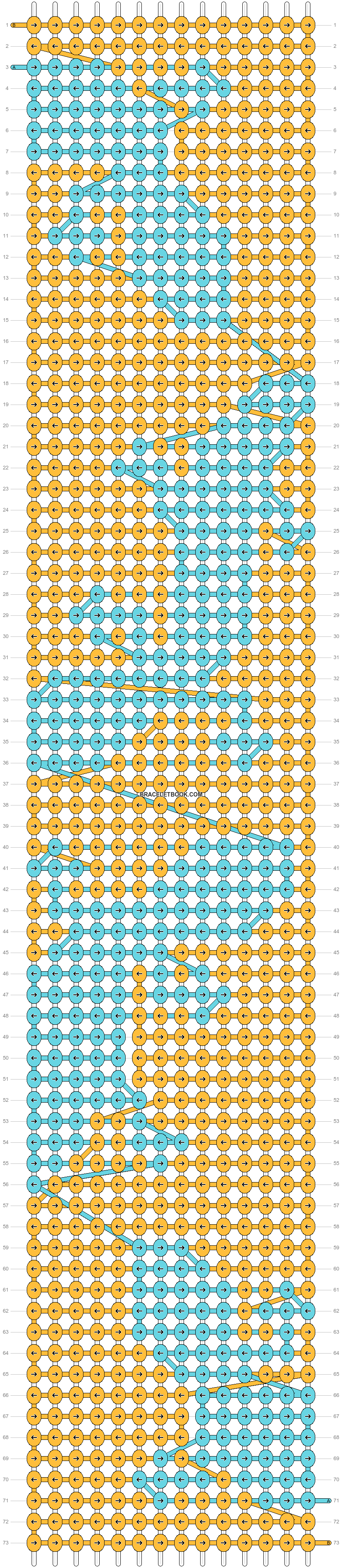 Alpha pattern #70973 variation #160450 pattern