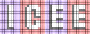 Alpha pattern #67618 variation #160958
