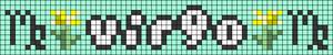 Alpha pattern #89311 variation #161310