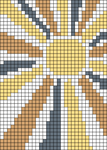 Alpha pattern #38094 variation #161455