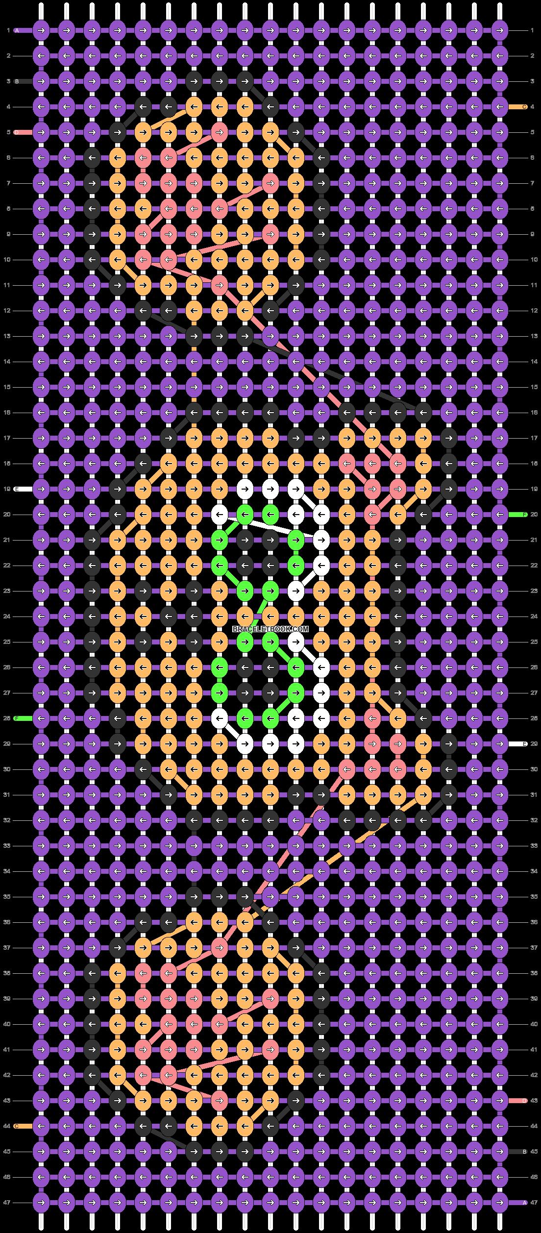 Alpha pattern #67434 variation #161953 pattern