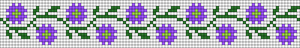Alpha pattern #89765 variation #162005