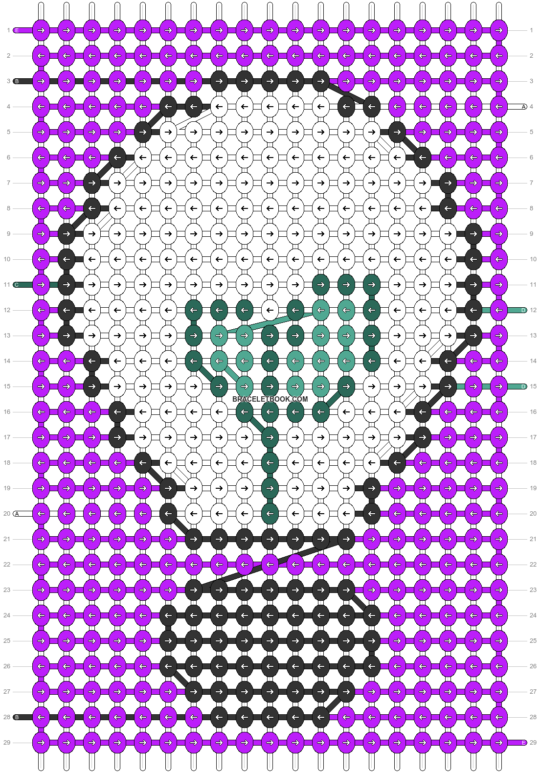 Alpha pattern #79878 variation #162027 pattern