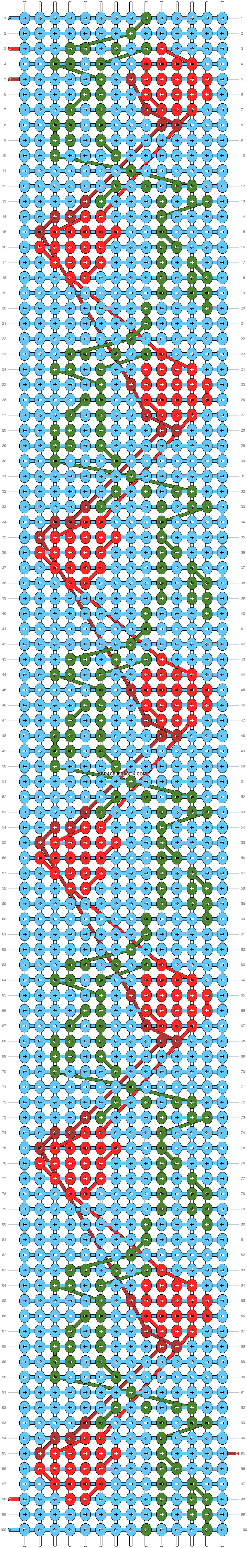 Alpha pattern #89768 variation #162250 pattern