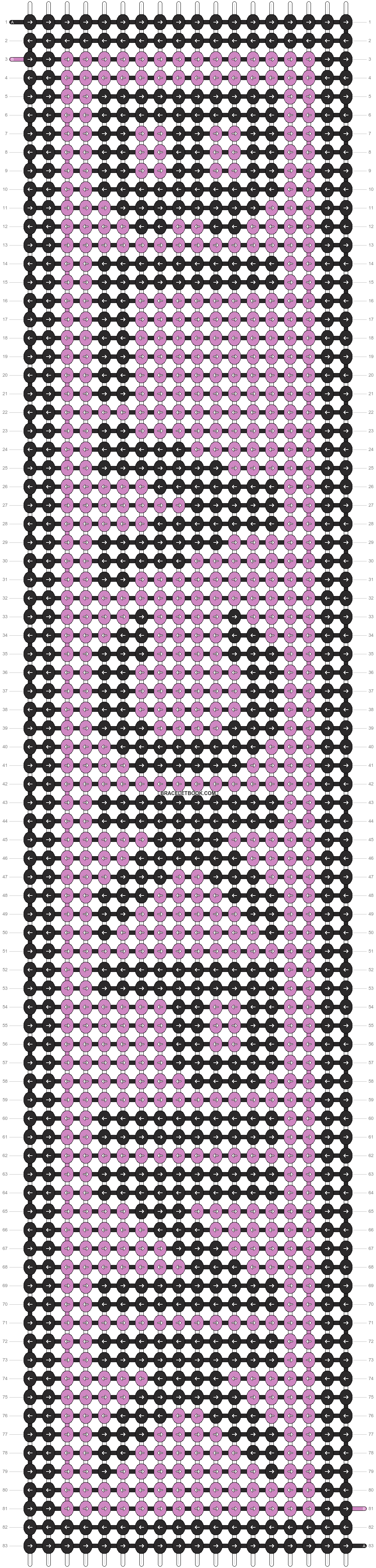 Alpha pattern #24567 variation #162251 pattern