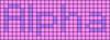 Alpha pattern #696 variation #162397