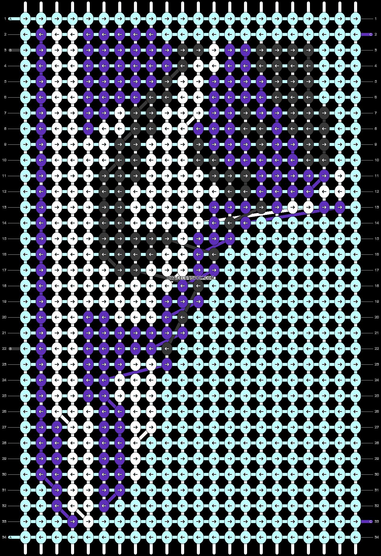 Alpha pattern #89934 variation #162552 pattern