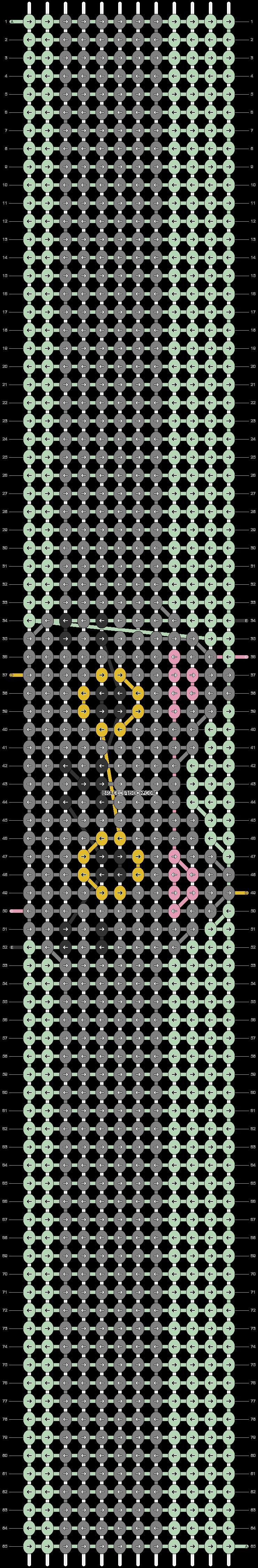 Alpha pattern #89842 variation #162599 pattern