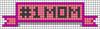 Alpha pattern #51982 variation #164087