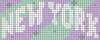 Alpha pattern #45088 variation #164126