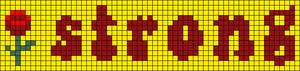 Alpha pattern #84897 variation #164233