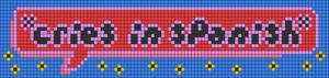 Alpha pattern #84015 variation #165213