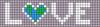 Alpha pattern #25260 variation #165285