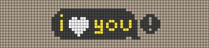 Alpha pattern #91441 variation #165657