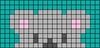 Alpha pattern #56159 variation #165730