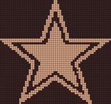 Alpha pattern #727 variation #165799