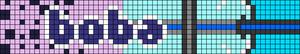 Alpha pattern #80861 variation #165909