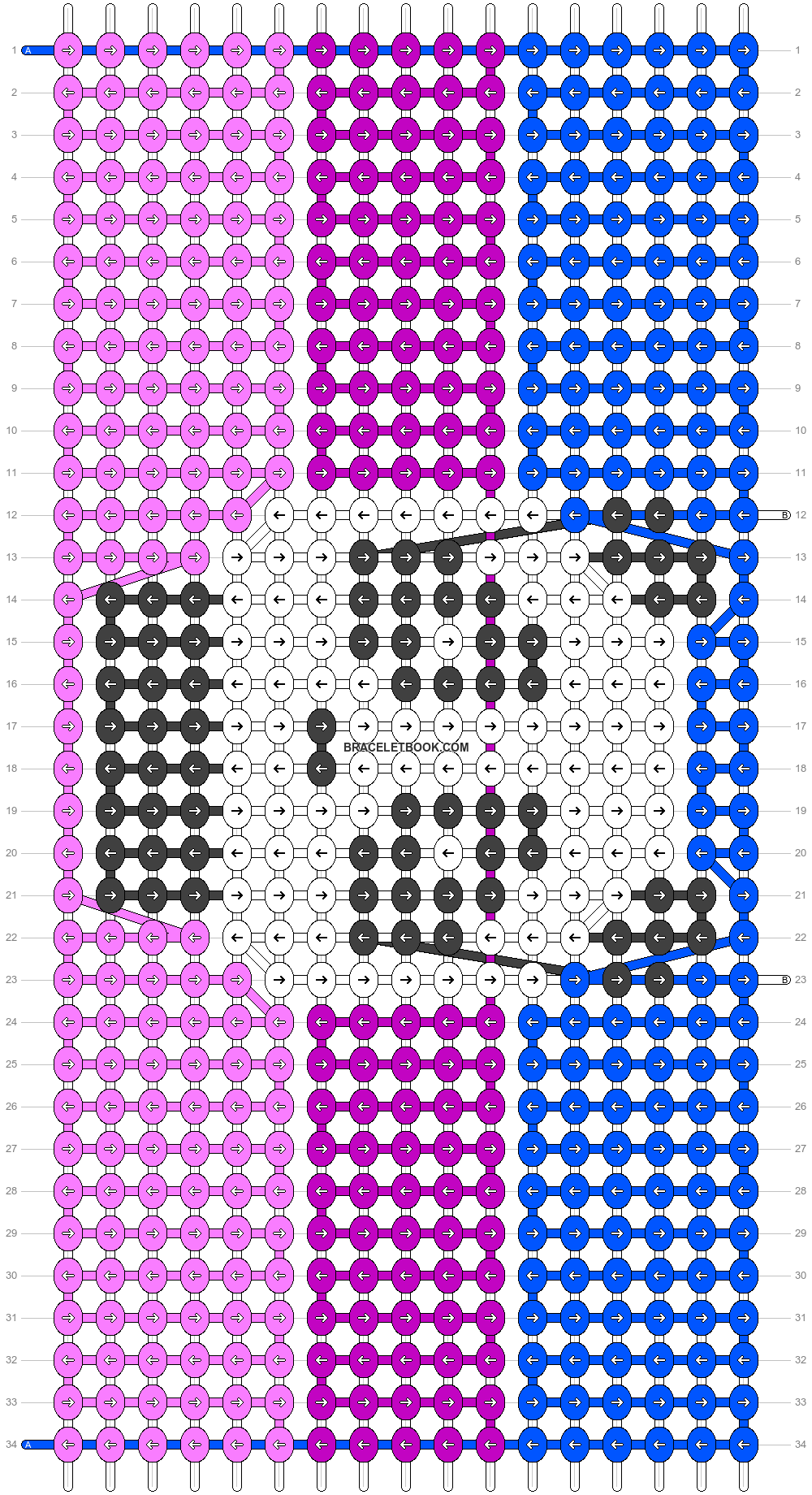 Alpha pattern #90911 variation #165930 pattern
