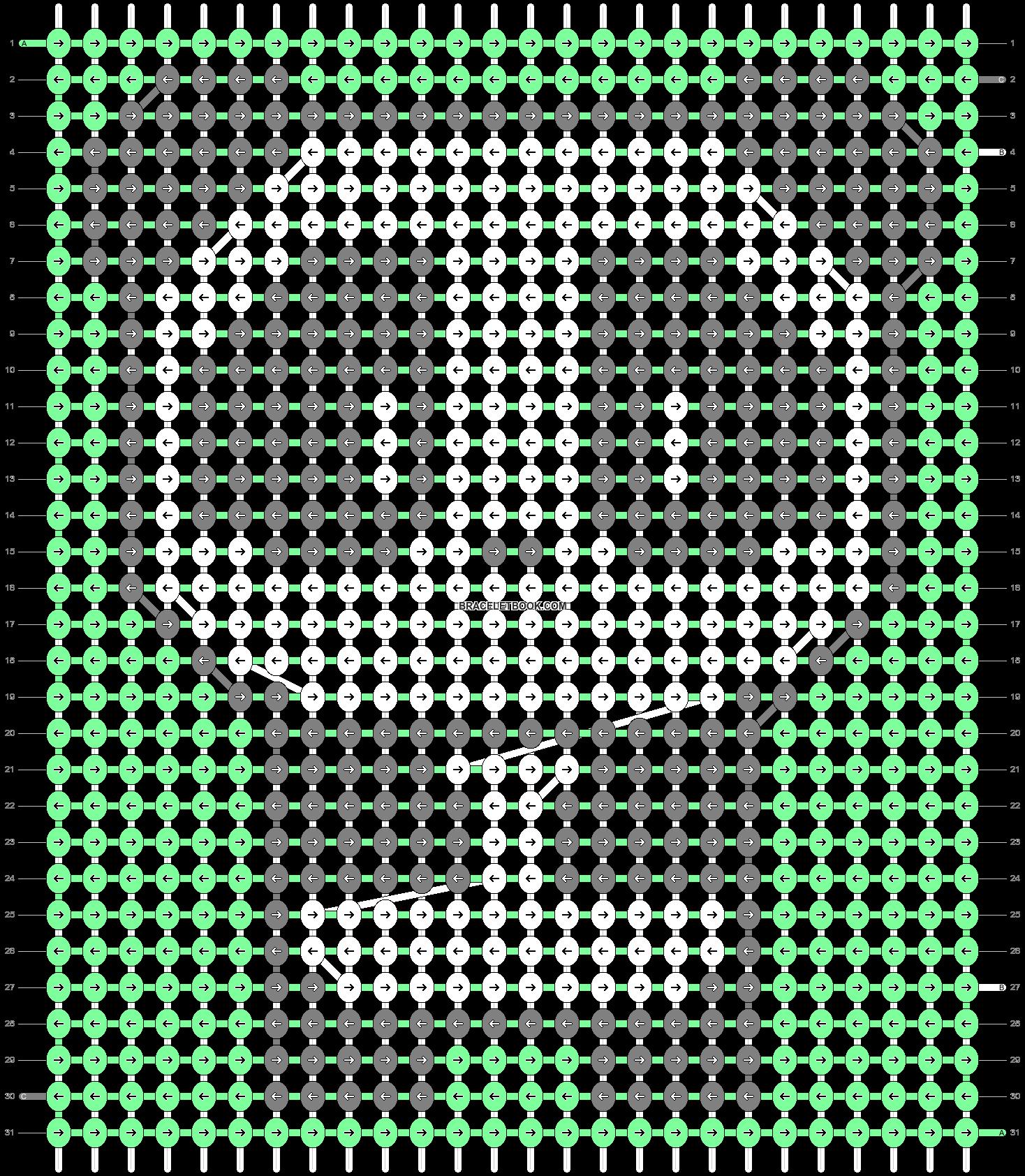 Alpha pattern #89465 variation #165949 pattern