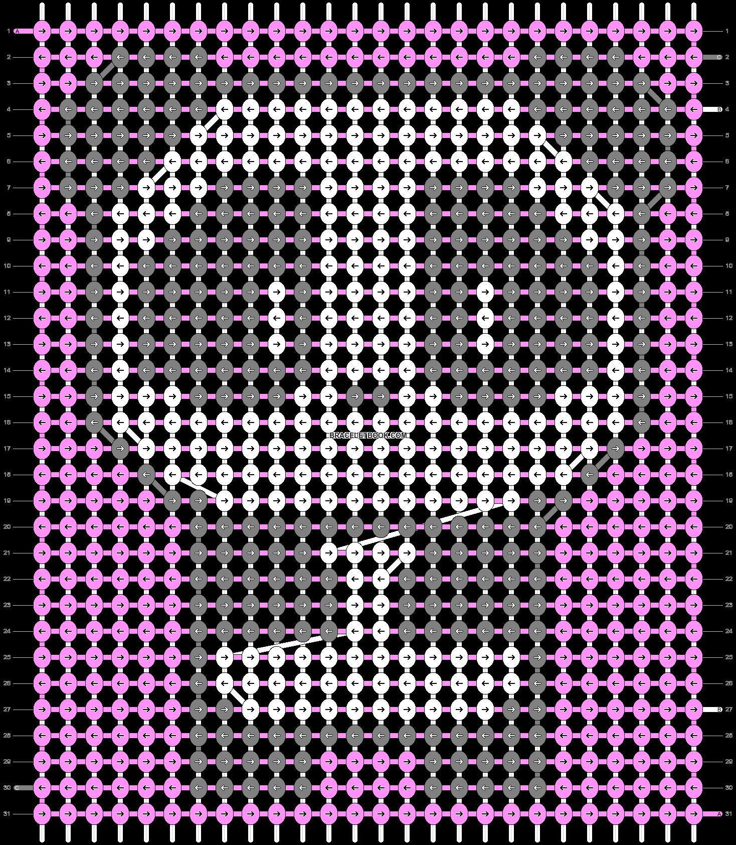 Alpha pattern #89465 variation #165950 pattern