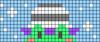 Alpha pattern #91725 variation #166331